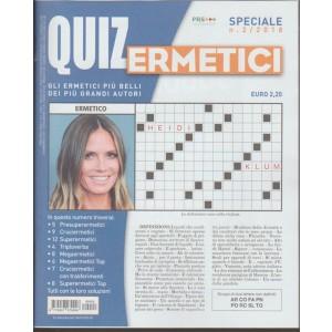 Quiz Ermetici - trimestrale n. 2 Marzo 2018