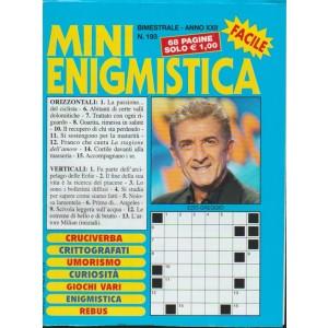 Mini Enigmistica - bimestrale n. 193 Marzo 2018 - Ezio Greggio