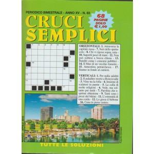Cruci Semplici - bimestrale n. 83 Marzo 2018 - Augusta (Georgia)