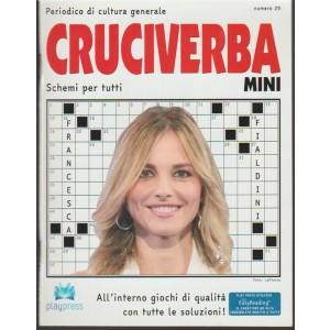 Cruciverba Mini - bimestrale n. 29 - Gennaio 2018 Francesca Fialdini
