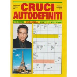 Cruci Autodefiniti - trimestrale n. 67 Febbraio 2018