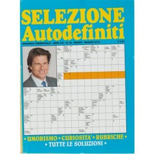 Selezione Autodefiniti - trimestrale n. 83 Marzo 2018