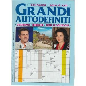 Grandi Autodefiniti - trimestrale n. 47 marzo 2018