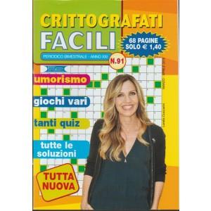 Crittografati Facili - bimestrale n. 91 marzo 2018 - Lorella Cuccarini