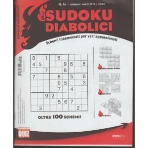 Solo Sudoku Diabolici - trimestrale n. 16 Gennai 2018