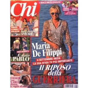 CHI - Settimanale n. 630 - 13 Luglio 2016 Maria De Filippi