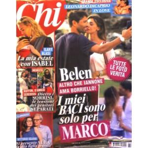 CHI - Settimanale n. 631 - 20 Luglio 2016 Belen Rodriguez Marco Borriello