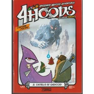4 Hoods - mernsile n. 1 Marzo 2018 Il Castello di Ghiaccio - Bonelli editore