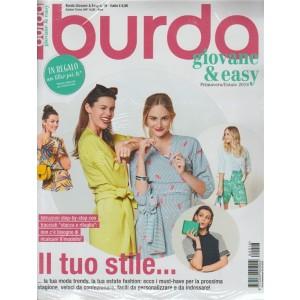 Burda Giovane & Easy - semestrale n. 16 Marzo 2018 - Primavera/Estate 2018