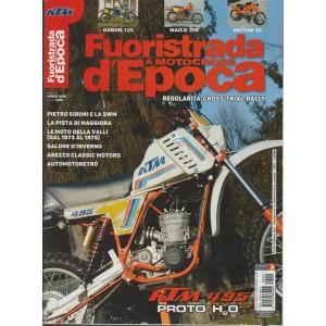 Fuoristrada d'epoca & Motocross - Bimestrale n. 2 Marzo 2018 KTM 495 Proto H2O