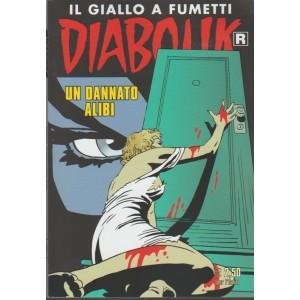 Diabolik Ristampa - mensile n. 681 Marzo 2018 Un dannato alibi
