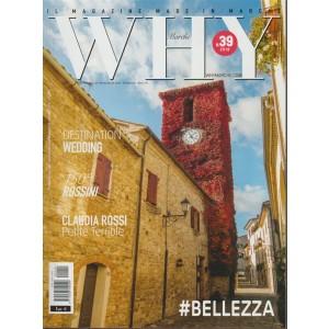 Why Marche - bimestrale n. 39 Marzo 2018 #Bellezza