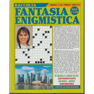 Raccolta Fantasia Enigmistica - trimestrale n.335 Febbraio 2018 - Singapore