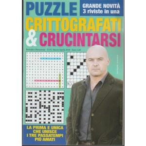 Puzzle Crittografati & Crucintarsi - bimestrale n.4 Marzo 2018 - Luca Zingaretti