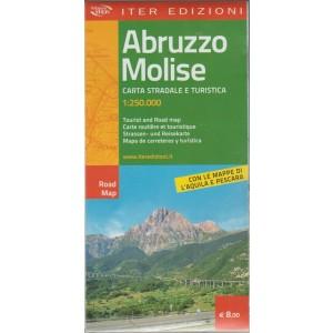 Abruzzo Molise: CARTA STRADALE E TURISTICA. 1:250.000.