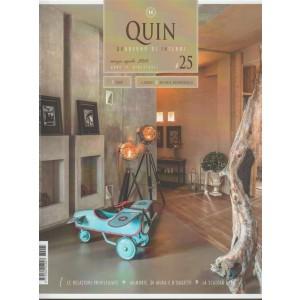 Quin: Quaderno di Interni - bimestrale n. 25 Marzo 2018