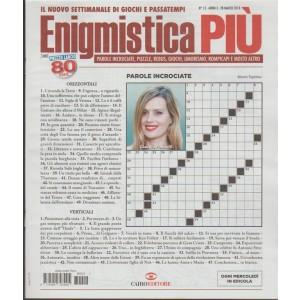 Enigmistica Più - settimanale n. 12 - 28 Marzo 2018 - Claudia Pandolfi