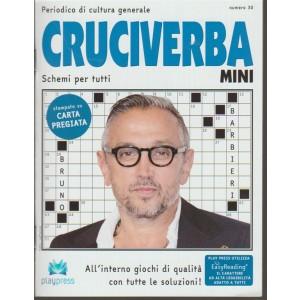 Cruciverba Mini - bimestrale n. 30 - Marzo 2018 Bruno Barbieri