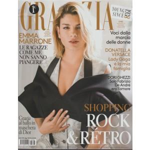 Grazia - settimanale n. 6 - 25 Gennaio 2018 Emma Marrone 33 anni cantante