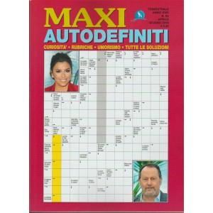 Maxi Autodefiniti - trimestrale n. 65 Aprile 2018