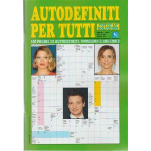 Abbonamento Autodefiniti per tutti (cartaceo mensile)