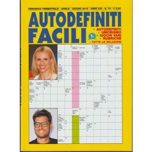 Autodefiniti Facili - periodico trimestrale n. 74 Aprile 2018