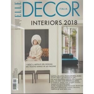 Elle Decor Italia - mensile n. 2 Febbraio 2018 - Interiors 2018 + NEXT