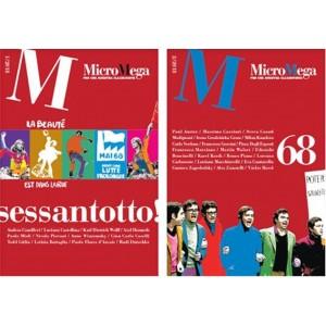 Micromega - rivista bimestrale (2 volumi) 1 e 2/2018 - Il sessantotto!