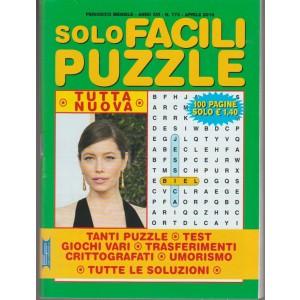 Solo Facili Puzzle - mensile n. 173 aprile 2018
