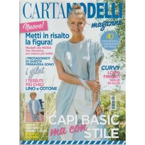 Cartamodelli Magazine - mensile n. 3 Aprile 2018 Capi Basic ma con stile