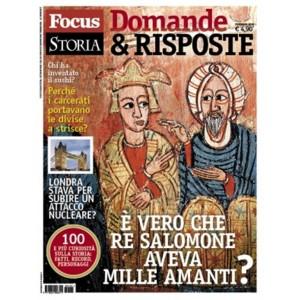 Focus Storia D&R - N° 3 Dicembre 2017 - E' vero che Re Salomone aveva 1000 amanti?