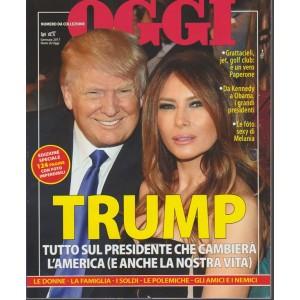 Nomi di OGGI - Trump - Gennaio 2018 - Numero da collezione