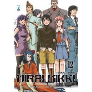 Mirai Nikki n° 12 - Point Break n° 165 - Star Comics
