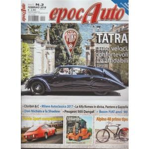 Epocauto - mensile n. 2 Febbraio 2018 Tatra auto veloci confortevoli affidabili