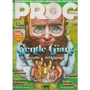 Prog Music Italia-bimestrale n.17 Marzo2018 Genle Giant il risveglio del gigante