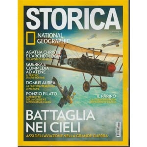 Storica - mensile n. 110 Aprile 2018 National geographic