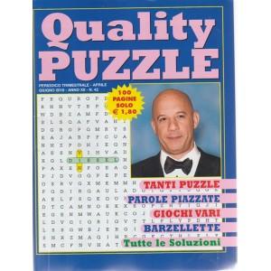 Quality Puzzle - n. 42 - periodico trimestrale aprile - giugno 2018