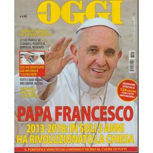 Nomi di Oggi - Papa Francesco - Marzo 2018 - edizione speciale c/124 pagine