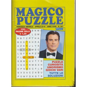 Magico Puzzle - n. 287 - periodico mensile - aprile 2018