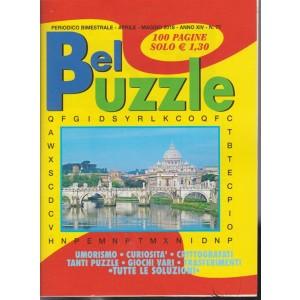 Bel Puzzle -  n. 77 - periodico bimestrale - aprile - maggio 2018