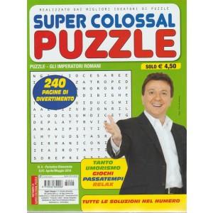 Super Colossal - Super Colossal Puzzle n. 4 - periodico bimestrale - aprile - maggio 2018