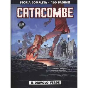 Cosmo Serie Nera n° 4 - Catacombe - Il diavolo verde - Cosmo Editore