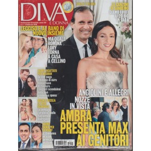 Diva e Donna  - settimanale n. 5 - 6 Febbraio 2018 Le canzoni di Sanremo