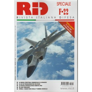RID Rivista Italiana Difesa - Mensile n. 4 Aprile 2018 Speciale F-22