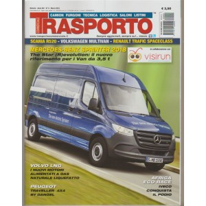 Trasporto Commerciale - mensile n.3 Marzo 2018 - Peugeot Traveller 4x4 by Dangel