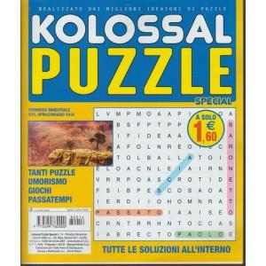 Kolossal Puzzle Special - n. 14 - periodico bimestrale - aprile- maggio 2018