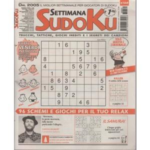 Settimana Sudoku - n. 660 - 6 aprile 2018 - settimanale