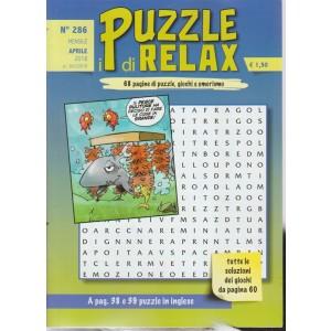 I Puzzle Di Relax -  n. 286 - mensile - aprile 2018