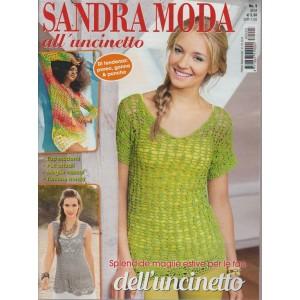 Sandra Moda all'uncinetto - semestarle n. 3 Febbraio 2018