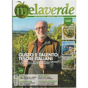 Mela Verde Magazine - mensile n. 4 Aprile 2018 le ricette del territorio